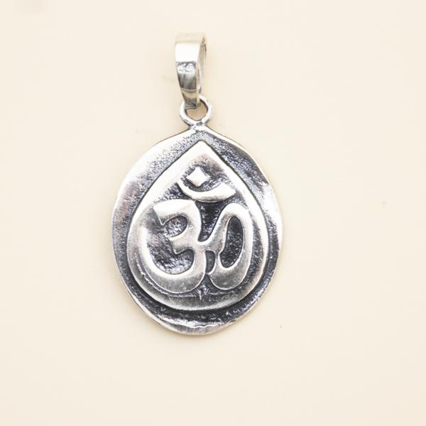 Colgante Ganesha y Om