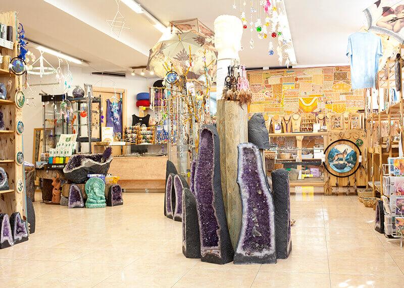 Interior tienda Aqua Aura en Valencia