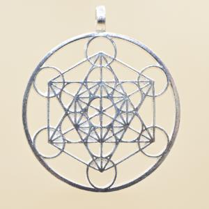Colgante con el símbolo Metatrón