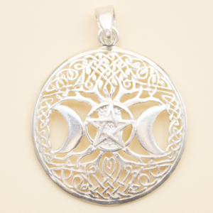 Colgante Amuleto Wicca