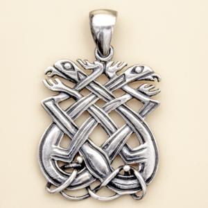 Amuleto nudo perros celta