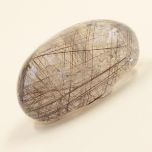 Lente Cuarzo con Rutilo