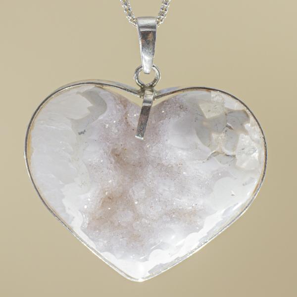 Colgante Corazón de Cuarzo