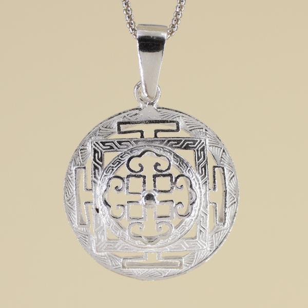 Mandala tibetana 3D
