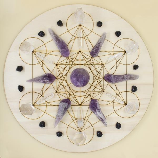 Mandala Metatrón para la calma y tranquilidad