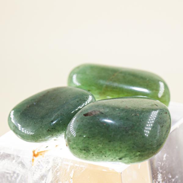 Canto rodado cuarzo verde