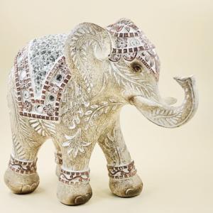 Elefante de la buana suerte y la prosperidad